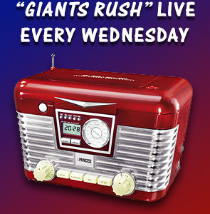 "Listen to ""Giants Rush"" LIVE"