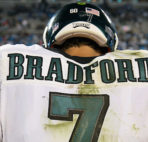 Eagles Sam Bradford stinks