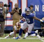 kick returner NY Giants