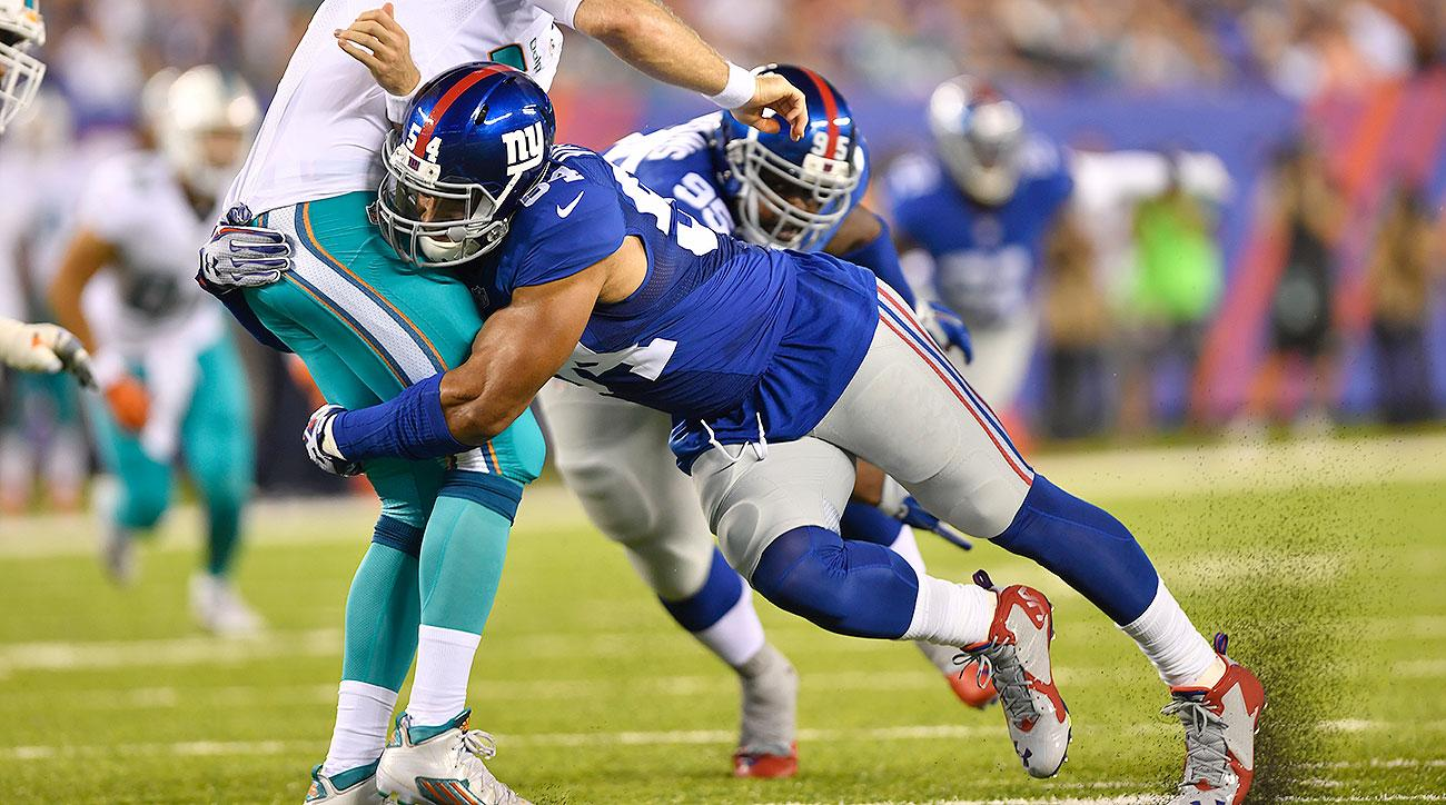 As Advertised Olivier Vernon Dominates NY Giants Rush