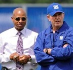 Jerry Reese and Tom Coughlin