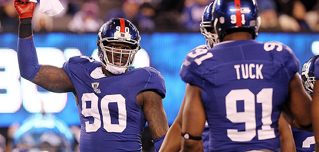 JPP and Justin Tuck